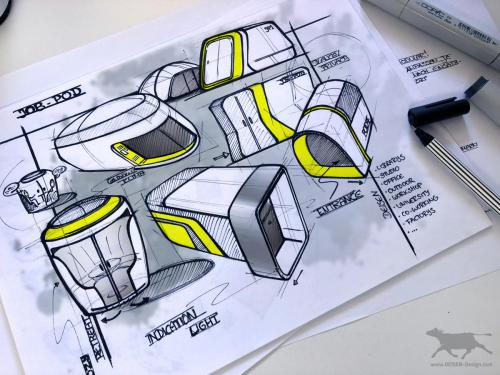 Industrie Design Sketch