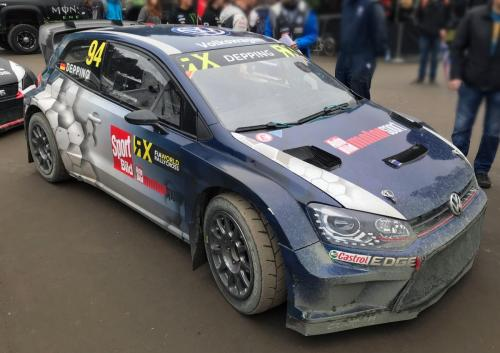 Car Wrapping Design für Volkswagen Motorsport - Rallycross Polo WRX